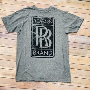 🌟3 FOR $35🌟 Reason Grey Graphic Tee